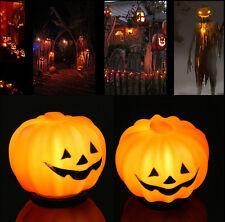 Halloween Props Decorations16 LED Pumpkin String Light Fairy Lights Xmas Party