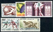 ST PIERRE et MIQUELON 1958-1959 Yvert 358-361, PA 26 ** POSTFRISCH (F4036