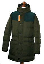 Hugo Boss 50256608 Medium Green Odos Kapuzen Mantel Jacke Parka Gr.54