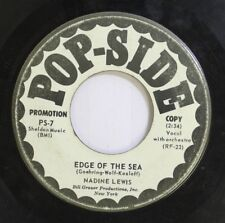 Jazz 45 Nadine Lewis - Edge Of The Sea / O-Trem On Pop-Side