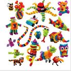 370pcs DIY Puff Ball Squeezed Variety Creative Handmade Toy Puzzles For Kids