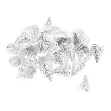 50Pcs Filigree Hollow Cone Flower Beads Cap for Tassel Crafts Findings