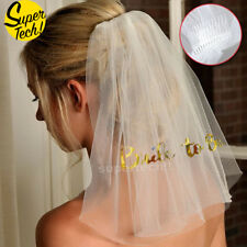 Bride To Be Veil Two-tier Hen Night Bachelorette Party  Street Snap Bridal