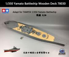 TAMIYA 1/350 Yamato Battleship Wooden Deck 78030