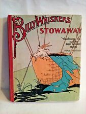 Vintage Billy Whiskers Stowaway POPULAR EDITION 1930 Hard Cover Book