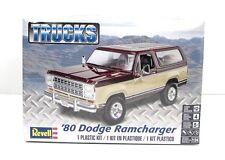 Revell 1980 Dodge Ramcharger Truck Plastic Model Kit 1/24 85-4372 New