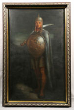 Militar American Painting Persian soldier Fred Cooper Foe of the Lion Hearted