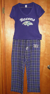 Baltimore Ravens Women's Loungewear/Sleepwear Set Size Small
