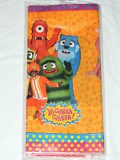 "NEW YO-GABBA-GABBA   1-PAPER TABLE COVER -54"" X 96""-  PARTY SUPPLIES"