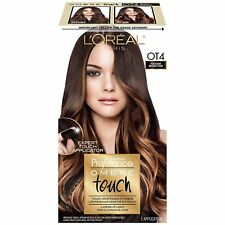 Loreal Feria Ombre, Preference Ombre Hair Color, Touch, OT4, Dark Brown, 1 Kit