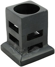 Hand Crafted Black soapstone tealight Votive Candle holder for Home Office