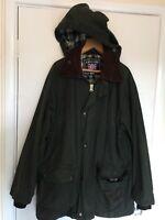 Lakeline Hooded Wax Jacket (Same As Barbour Bedale) Size UK 38 (Euro 48)