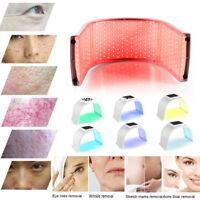 7 Colors LED Photon PDT Light Lamp Skin Rejuvenation Acne Therapy Beauty Machine