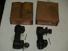 NOS Pair of 2 Hoover Tie Rod Ends ES29 for Chevrolet 1933-1940