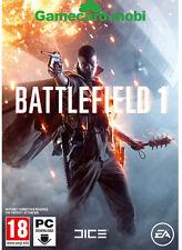 Battlefield 1 Key [PC Game] BF1 One EA ORIGIN Digital Download Code  [UK] [EU]