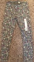 NWT Jumping Beans Girls Size 5 All Day Play Leggings Gray Multi-Color Hearts