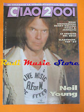 rivista CIAO 2001 2/1990 Neil Young Henry Rollins Jannacci Paoli Resident *No cd