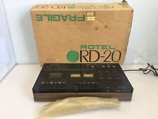Rotel RD-20 Stereo Cassette Tape Recorder / Player