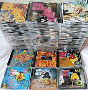 Komplette Sammlung Bravo Hits von Vol. 1 bis 55 & 57 bis 113 (Vol. 1 mit Sandra)