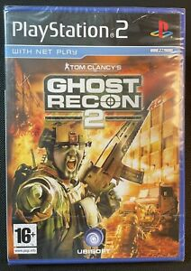 Tom Clancy's Ghost Recon 2 Ps2 Game New Sealed U.K. Pal Playstation 2