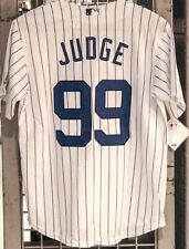 Outerstuff Aaron Judge New York Yankees Youth Cool Base Home Jersey Sz (M) 10/12