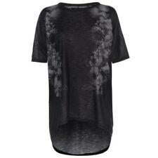 Ladies Firetrap Lightweight All Over Print Lucy T Shirt Loose Fit Top