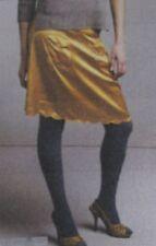 New NWT See By Chloe size 44/8 Saffron Silk Scalloped Hem Skirt