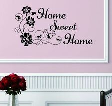 Flower Removable Art Vinyl Quote Wall Sticker Decal Mural Home Decor Sweet LC