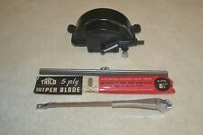 "Trico ""S"" Type Wiper Motor Arm and Blade Late 1920's early 1930's NOS Mint Kit"