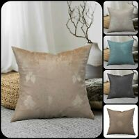 "New Modern Luxury Jacquard Cushion Covers & Filled Cushions 18""x18"" OR 23""x23"""