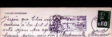 VICHY (03) JOUEUSE de VIELLE / CARTE GEOGRAPHIQUE / ALLIER TOURISTIQUE en 1977