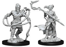 Magic The Gathering Unpainted Miniatures Stoneforge Mystic & Kor Hookmaster Figh