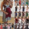 Women Pregnant Maternity Bodycon Mini Dress Sleeveless Pregnancy Summer Sundress