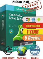 Kaspersky Total Security - 5Device / 1Year - 2021 - Global Key - Instant Email