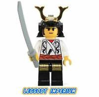 LEGO Ninja Minifigure - Ninja Shogun - minifig cas206 FREE POST
