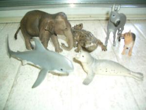 Schleich Tiere 6 kleine Sammlung