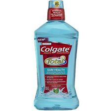 Colgate Total Gum Health Mouthwash, Clean Mint 33.8 oz