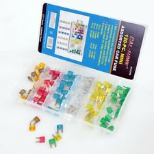120pc Mini Assorted Car Fuse Auto Cars & Trucks Fuses Replacement Color Coded