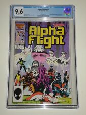 Alpha Flight 33 (04/85) CGC Graded 9.6  First Lady Deathstrike Appearance