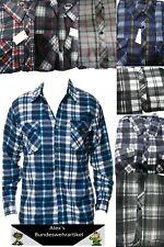 Flanellhemd Hemd Holzfällerhemd Karohemd Flanell Herrenhemd Freizeithemd Herren