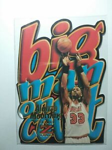 Alonzo Mourning 1996-97 Skybox Z Force Big Man on Court