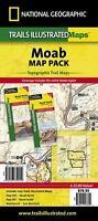 Moab Map Pack (Sheet Map, Folded)