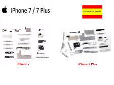 KIT JUEGO CHAPAS METALICAS DE FIJACION INTERNAS PARA IPHONE 7 / IPHONE 7 PLUS