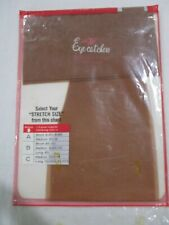 1Pr Vintage Berkshire Rht Stretch Sheer Nylon Stockings Size 10 1/2-11Long Beig