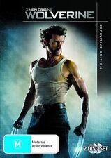 X-Men Origins Wolverine Definitive Edition Hugh Jackman 2-Disc Region 4 DVD VGC