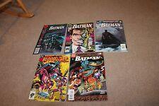 Batman Annual Lot #13,14,15,17,20 F/VF 7.0 1989 DC See my store