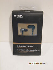 TDK IE-500 In-Ear Headphones with ceramic housing for full sound-FREE SHIP-NIB!!