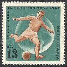 Bulgaria 1962 Football/Sport/WC/Soccer/Sports/Games 1v (n24599)