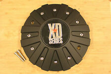 KMC XD Series 778 Monster Matte Flat Black Wheel Rim Center Cap 846L215 846L215B