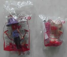 (2)SET MCDONALDS 2011 LIV DOLL #2 SOPHIE #3 SOPHIE HAIR STYLING DOLL W/ COMB